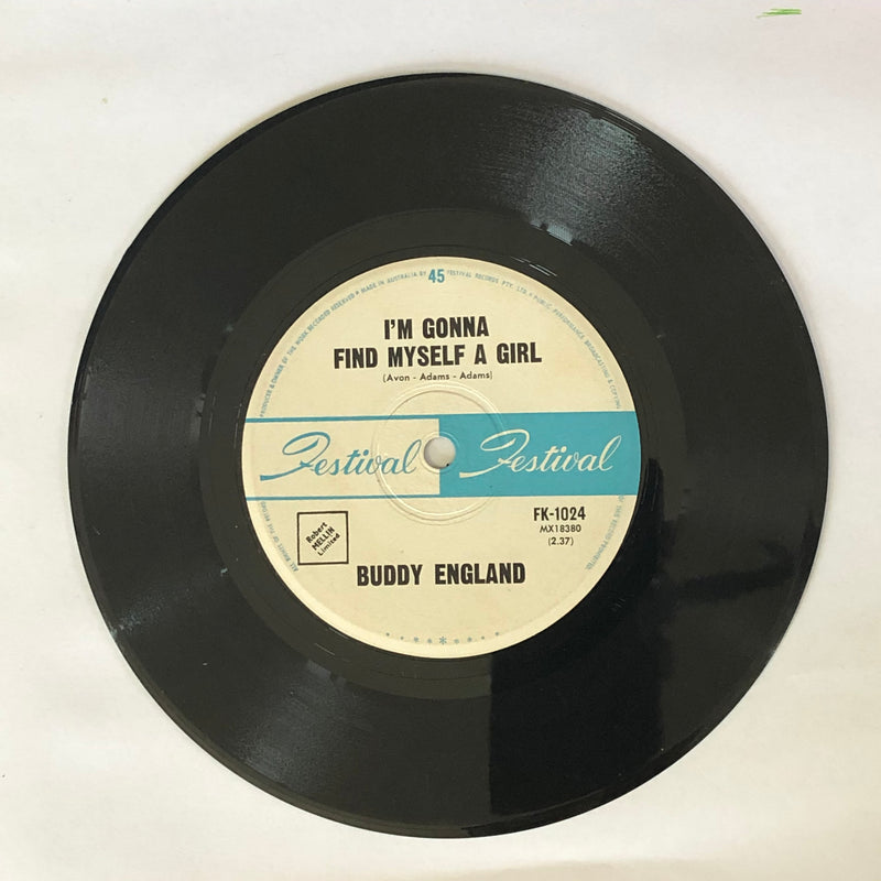 Buddy England - I've Come Of Age / I'm Gonna Find Myself A Girl