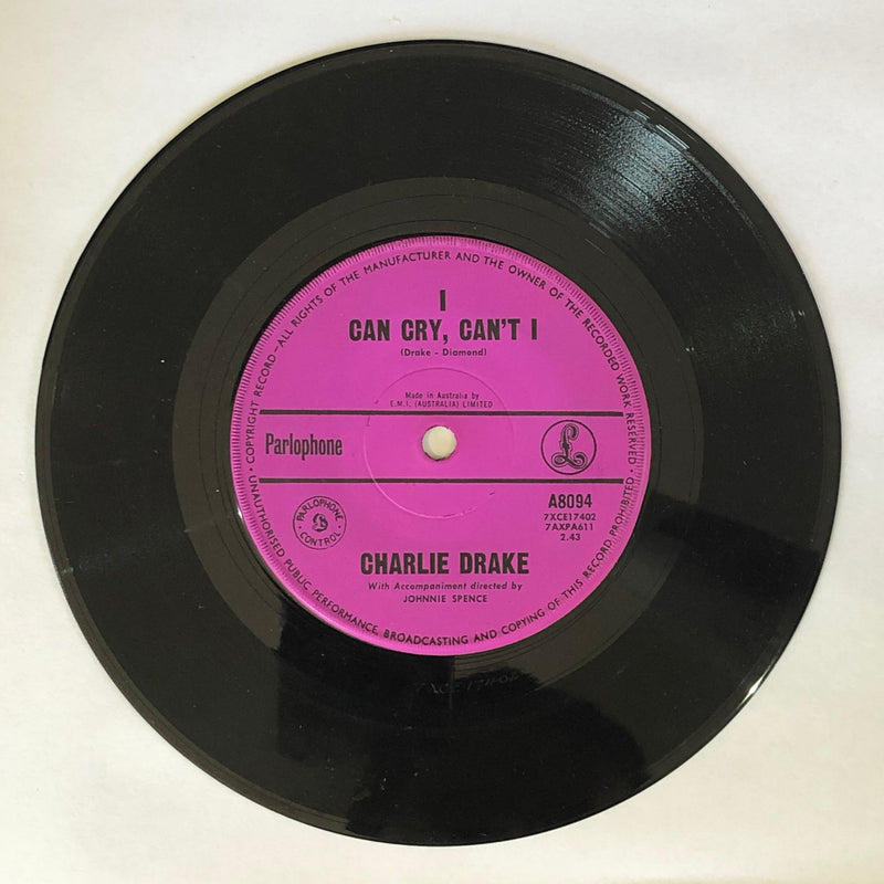 Charlie Drake - I've Lost The End Of My Yodel / I Can Cry, Can't I