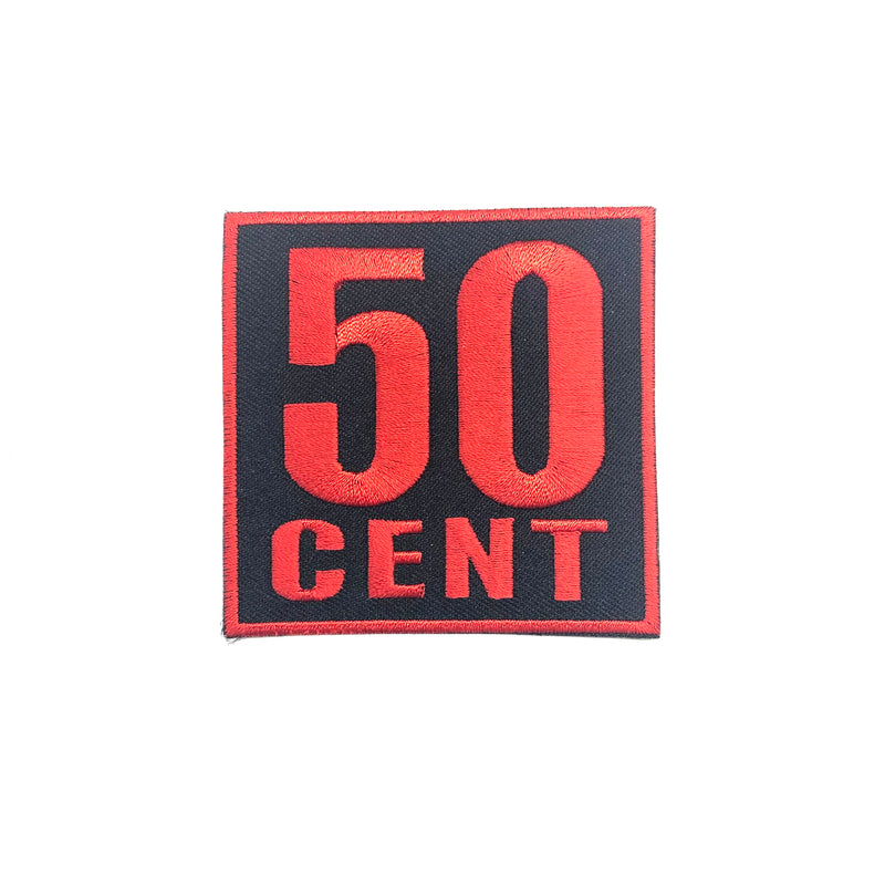 50 Cent (Iron-On Patch)