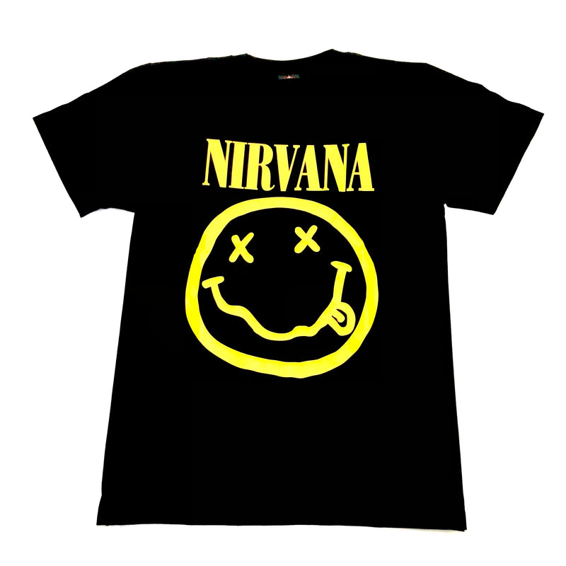 Nirvana - Smiley Face (T-Shirt)