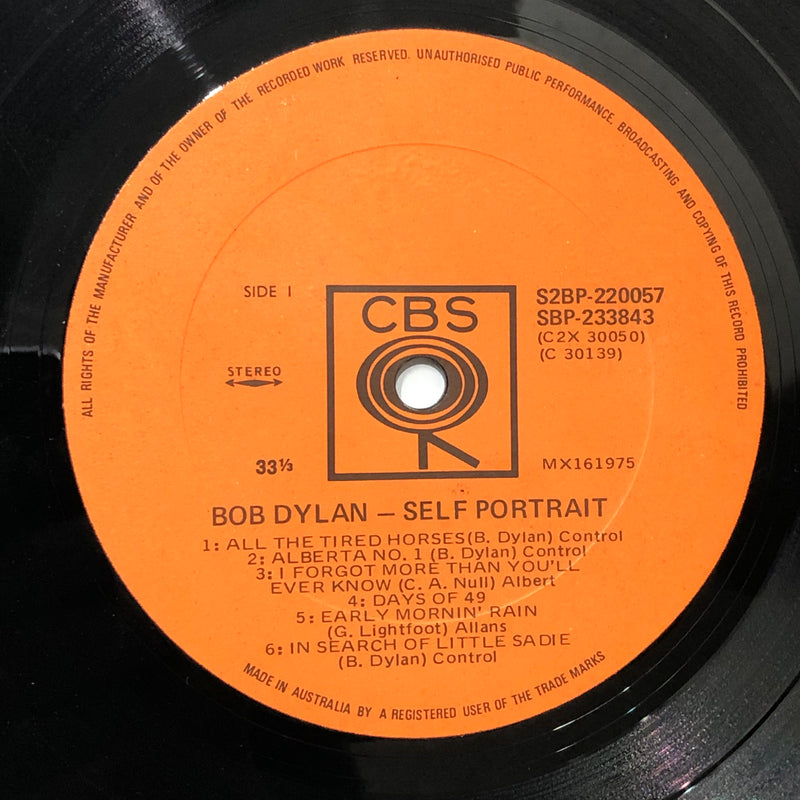 Bob Dylan - Self Portrait (Vinyl 2LP)[Gatefold]
