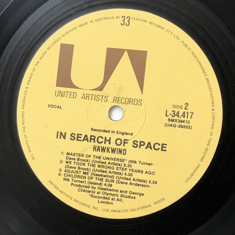 Hawkwind - X In Search Of Space (Vinyl LP)