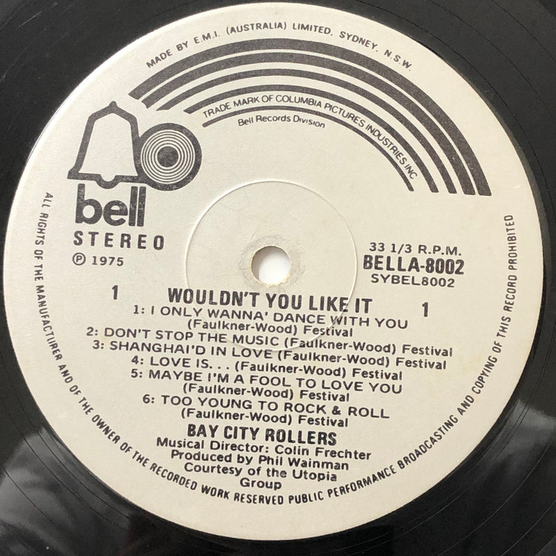 Bay City Rollers - Wouldn't You Like It? (Vinyl LP)[Gatefold]