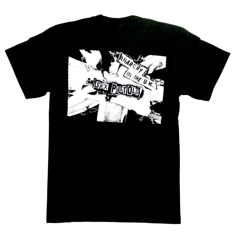 Sex Pistols - Anarchy In The UK, Punks Not Dead (T-Shirt)