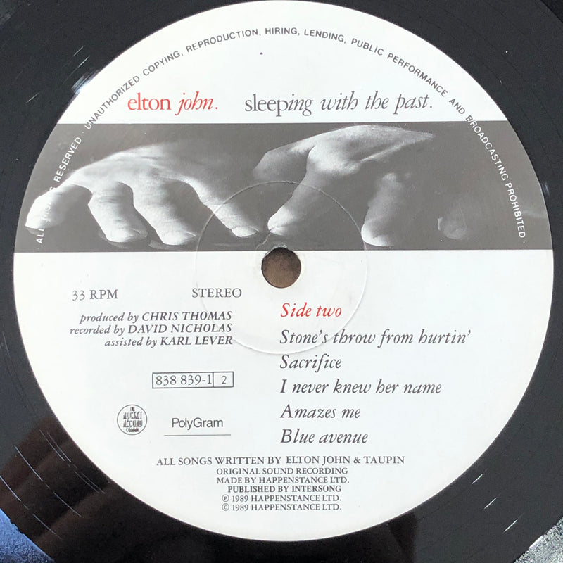 Elton John - Sleeping With The Past (Vinyl LP)