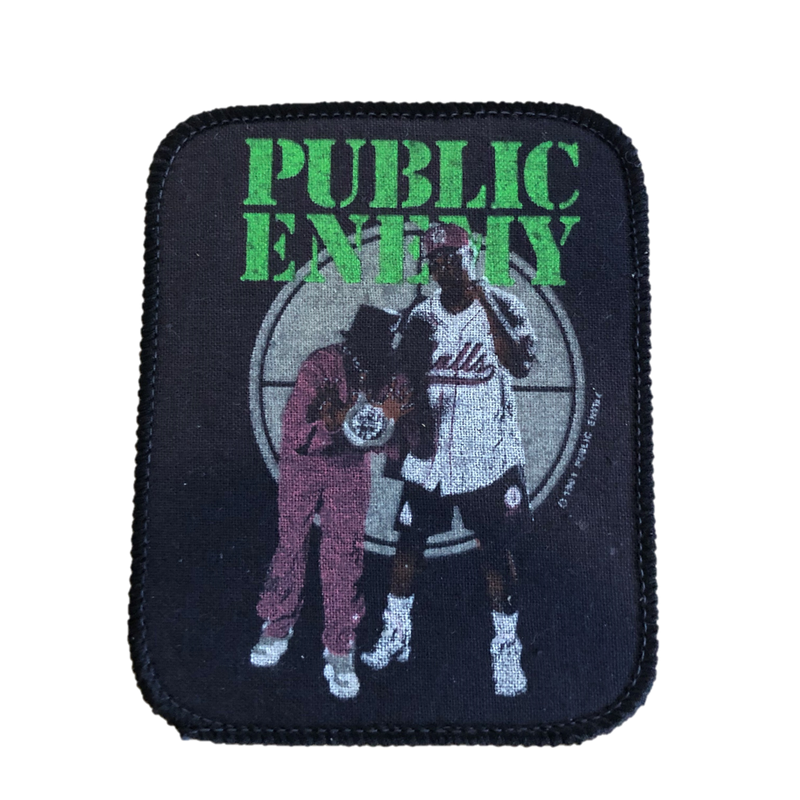 Public Eneny - 1991 Sew-on Patch