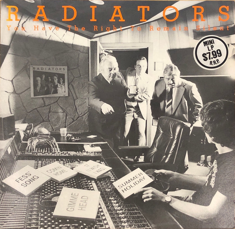 The Radiators - You Have The Right To Remain Silent