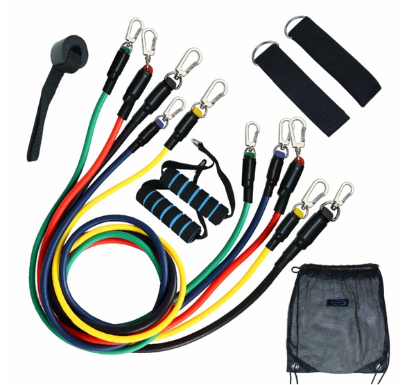 FIT FALCON™ | FITNESS RESISTANCE BANDS | 11 PCS SET