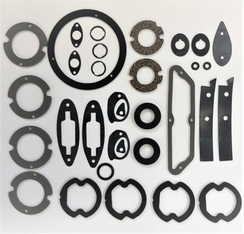 G663: 61-62 Body Seal Kit -35 pieces (paint gaskets)