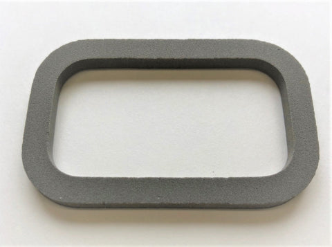 G682: 68-73 License Lamp Lens Gasket
