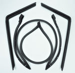H295: 68-75 Hard Top weatherstrip kit - 4 pc
