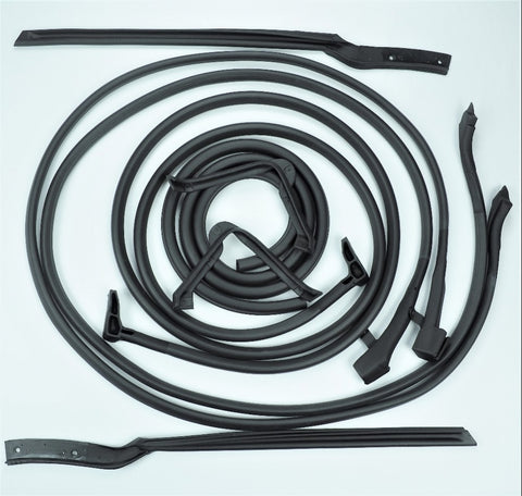 K005: 64-67 Convertible Door & Body weatherstrip kit - 8 pc