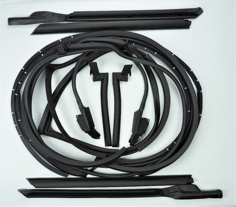 K006: 68 T-Top / Door weatherstrip kit - 12 pcs