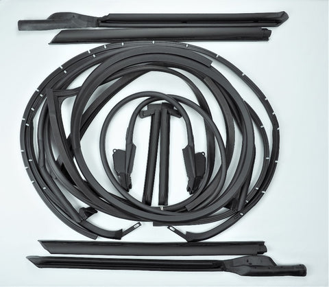 K008: 69 T-Top/Door weatherstrip kit - 12 pcs