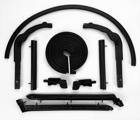 S196: 63-67 Convertible Top Weatherstrip Kit