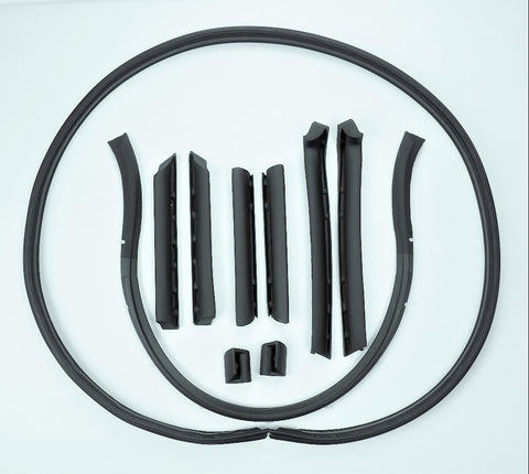S198: 68-75 Convertible Top Weatherstrip Kit