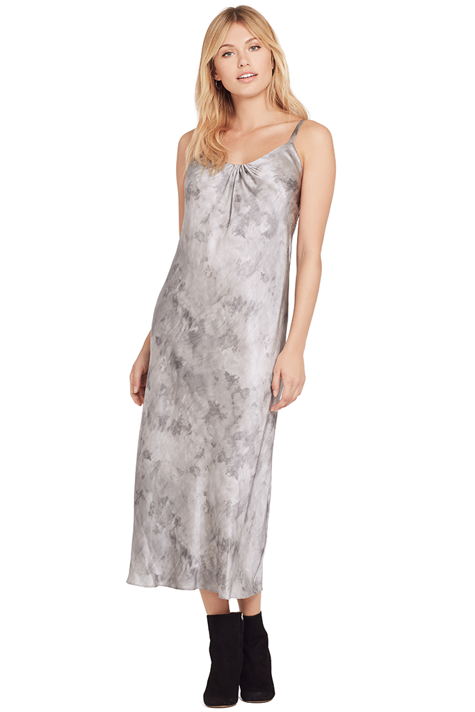 Vince Women Watercolor Marble Shirred Dress at Milk Boutique ... 9944996fc