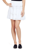 IRO | Jocie White Layered Ruffle Skirt at Shopatmilk.com - Milk Boutique Los Angeles | FREE DOMESTIC SHIPPING. Buy Iro Online