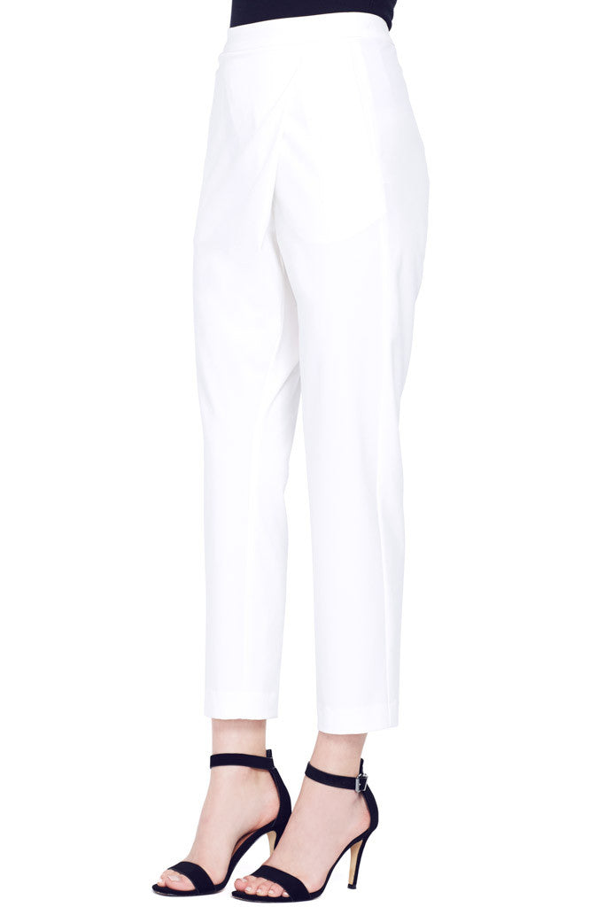 Mason by Michelle Mason | Cropped Wrap Pants at Shopatmilk.com - Milk Boutique Los Angeles | FREE DOMESTIC SHIPPING. Buy Mason by Michelle Mason Online
