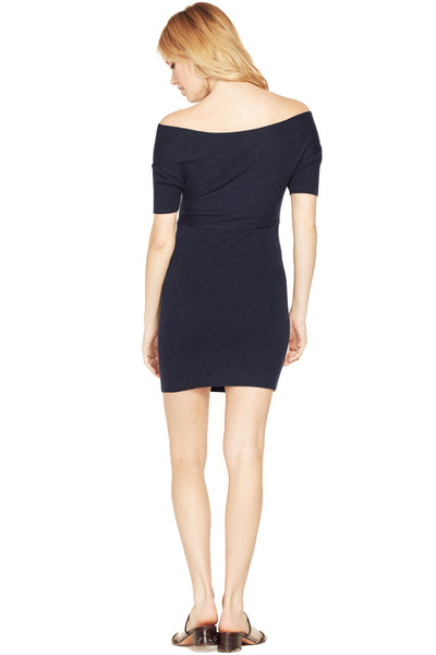 Cross Wrap Minidress