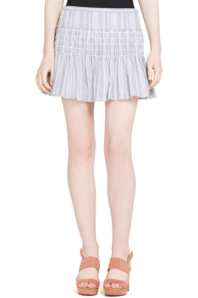 Camilla Skirt (Blue/White)