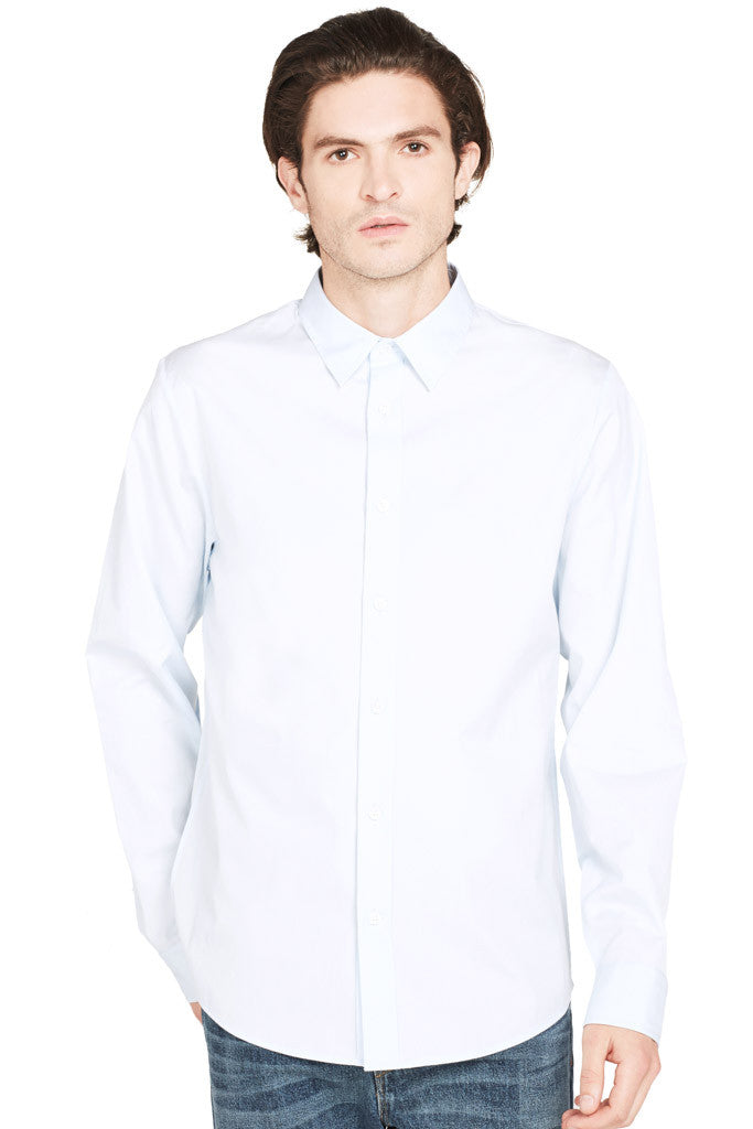 Reverse Placket Button Up