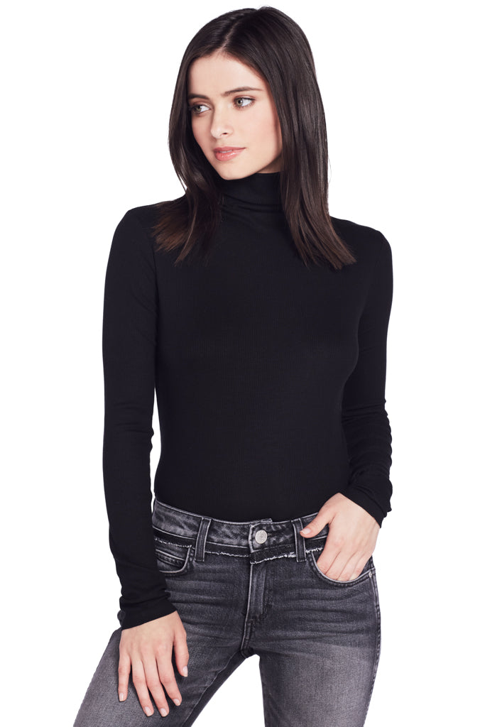 L/S Turtleneck (Black)