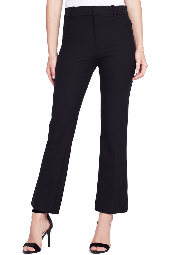 Cropped Flare Trouser