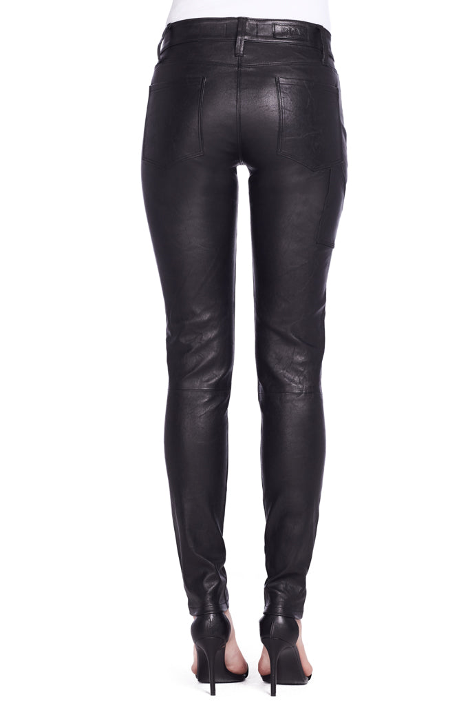 Bono Skinny Leather Army Pant