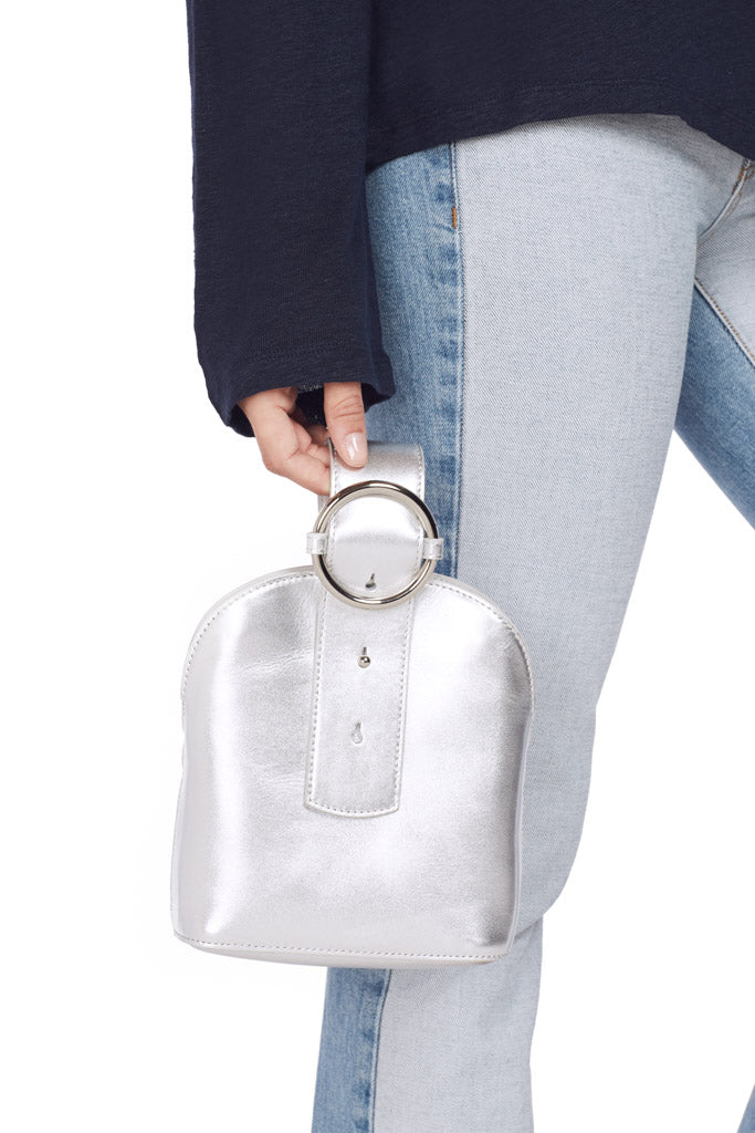 Addicted Crossbody Bag (Silver)