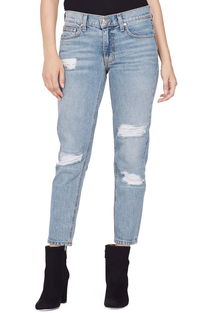 Mila Mid Rise Slim Girlfriend Jeans