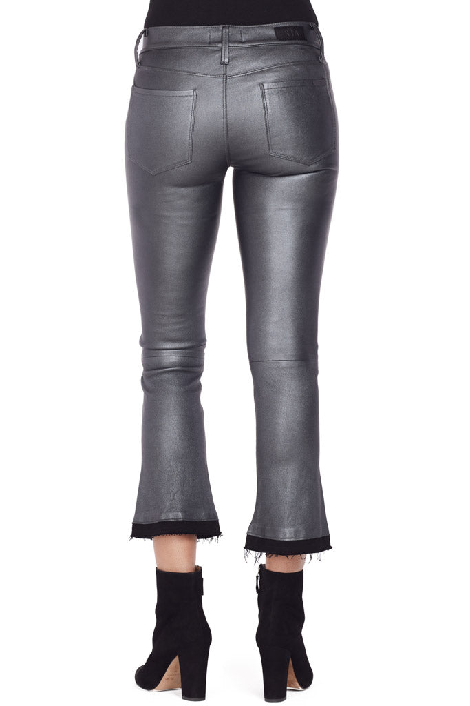 Kiki Leather Flares