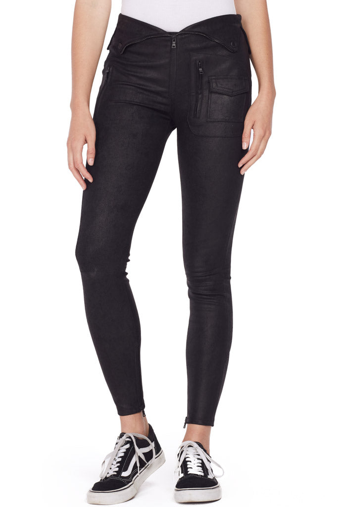 Diavolina Leather Pant