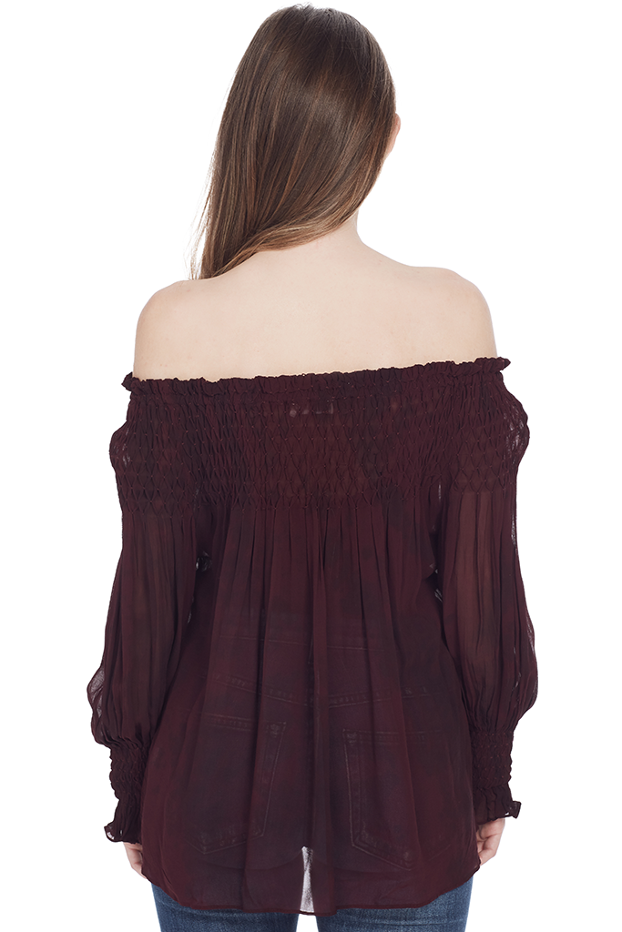 Romy Top (Light Eggplant)