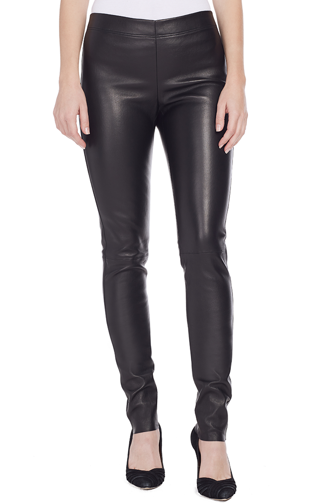 Leather Stretch Legging