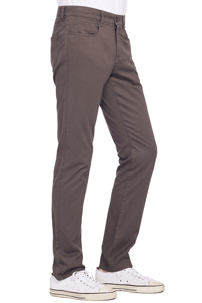 Soho 5 Pocket Pant (Grey)