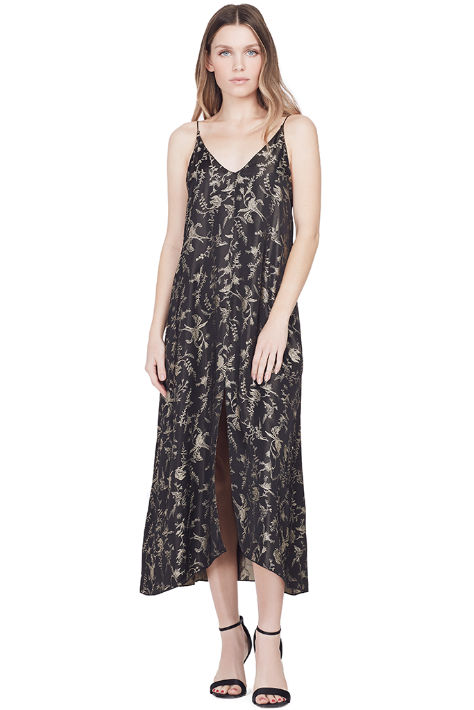 Jacquard Slip Dress