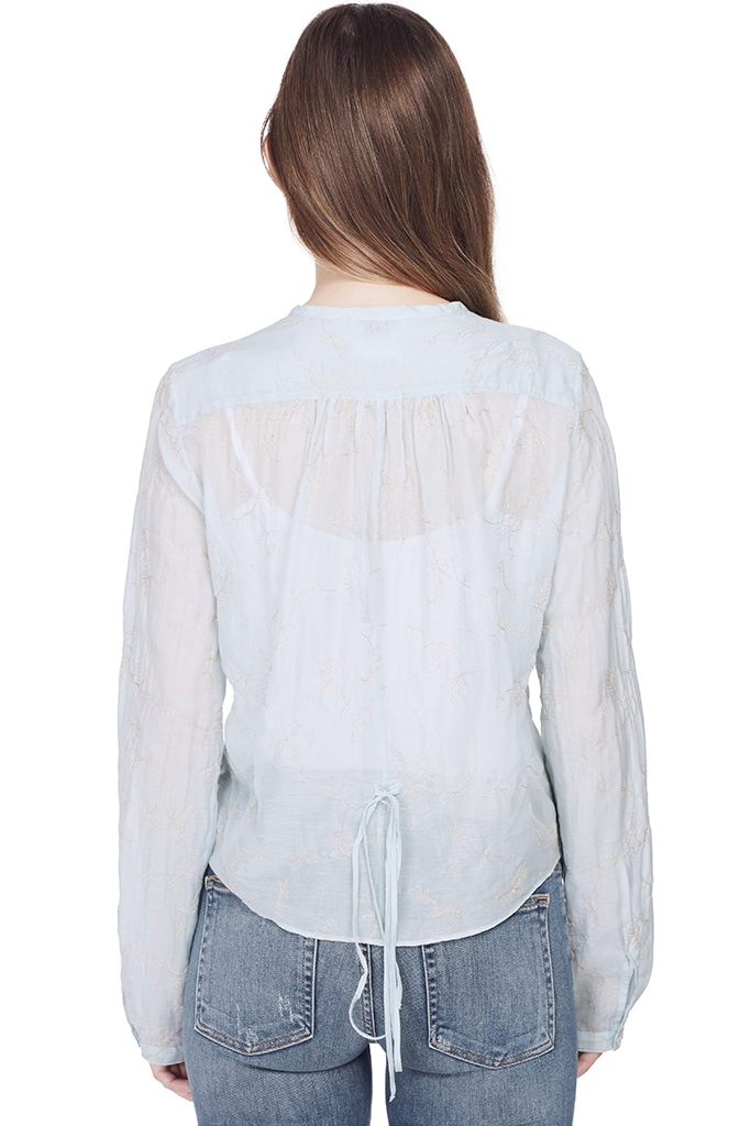 Co/Se Voile Shirt with Embroidery