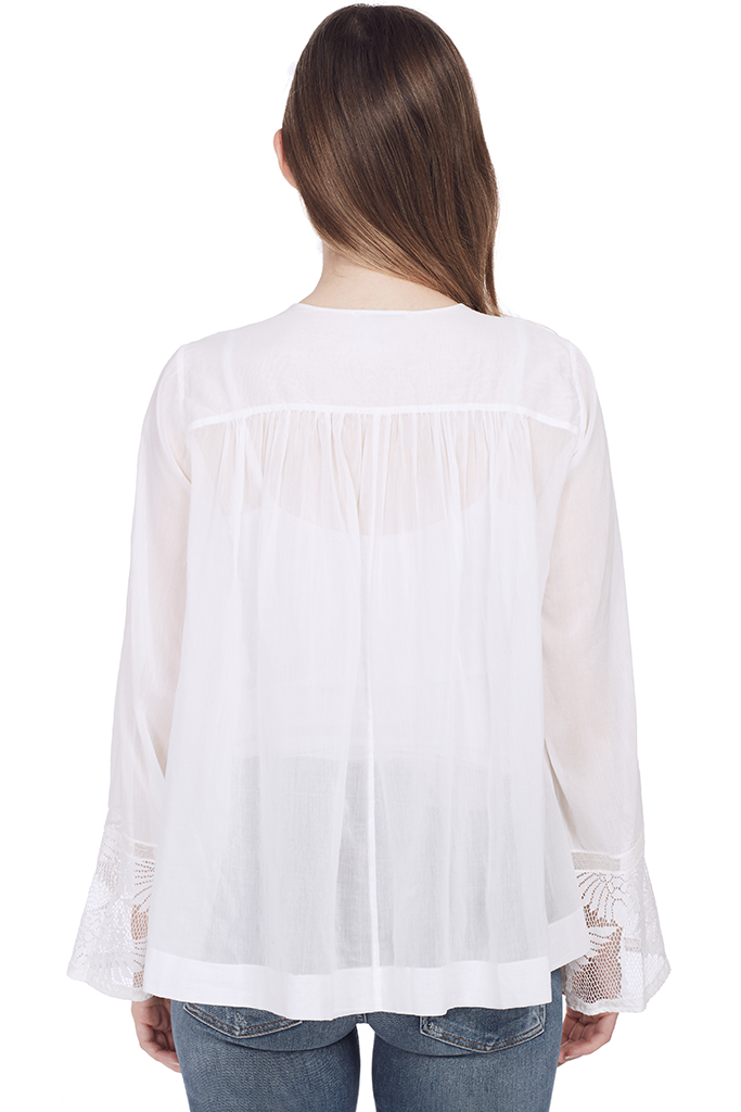 Co/Se Voile Bohemian Shirt