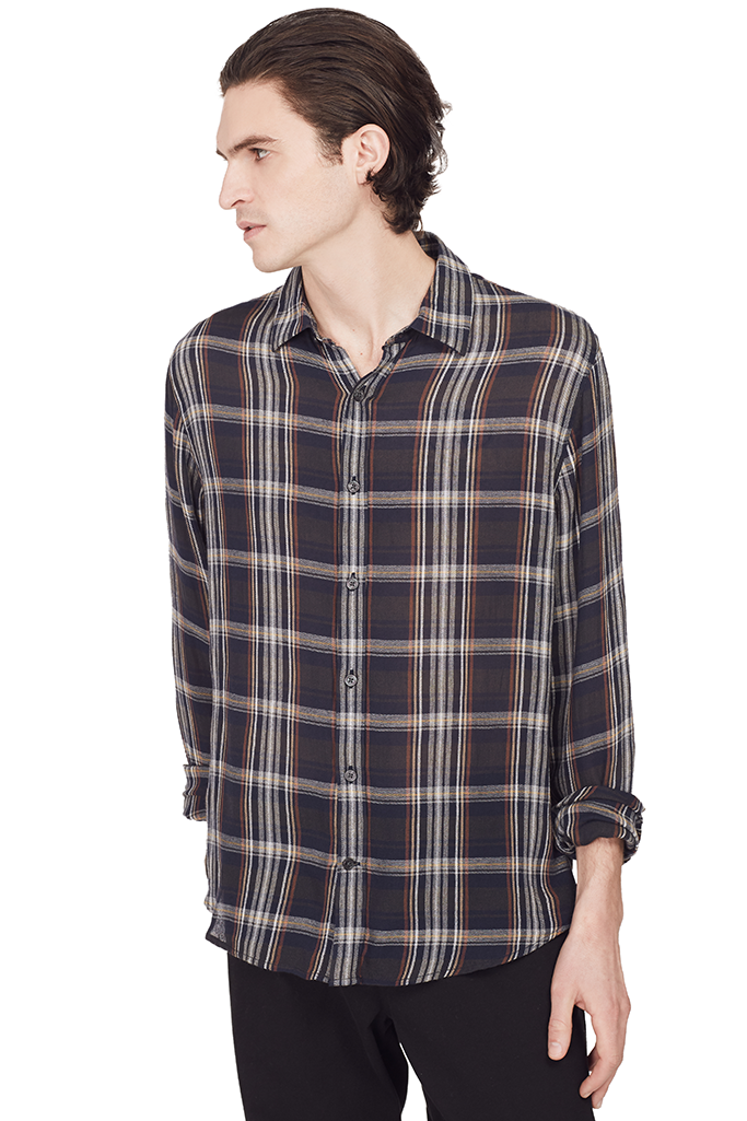 Classic Plaid Button Up