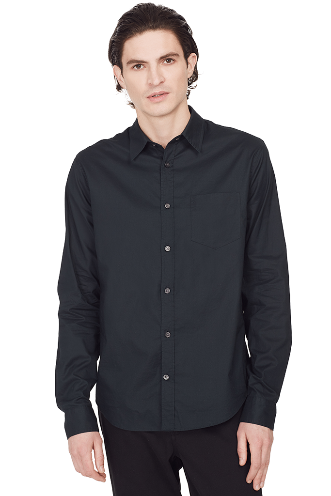 Single Pocket Button Up