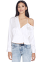 Off Shoulder Wrap Top