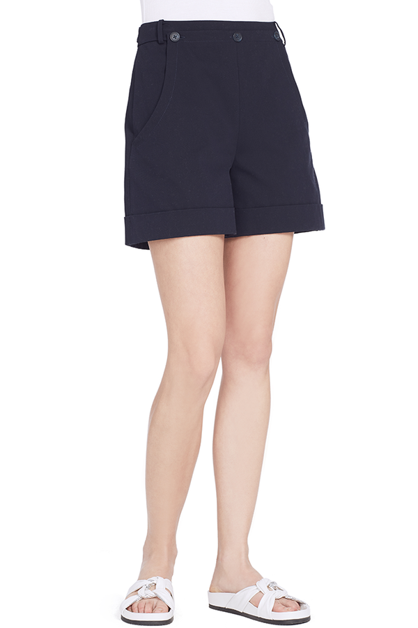 Cotton Sailor Short (Midnight)