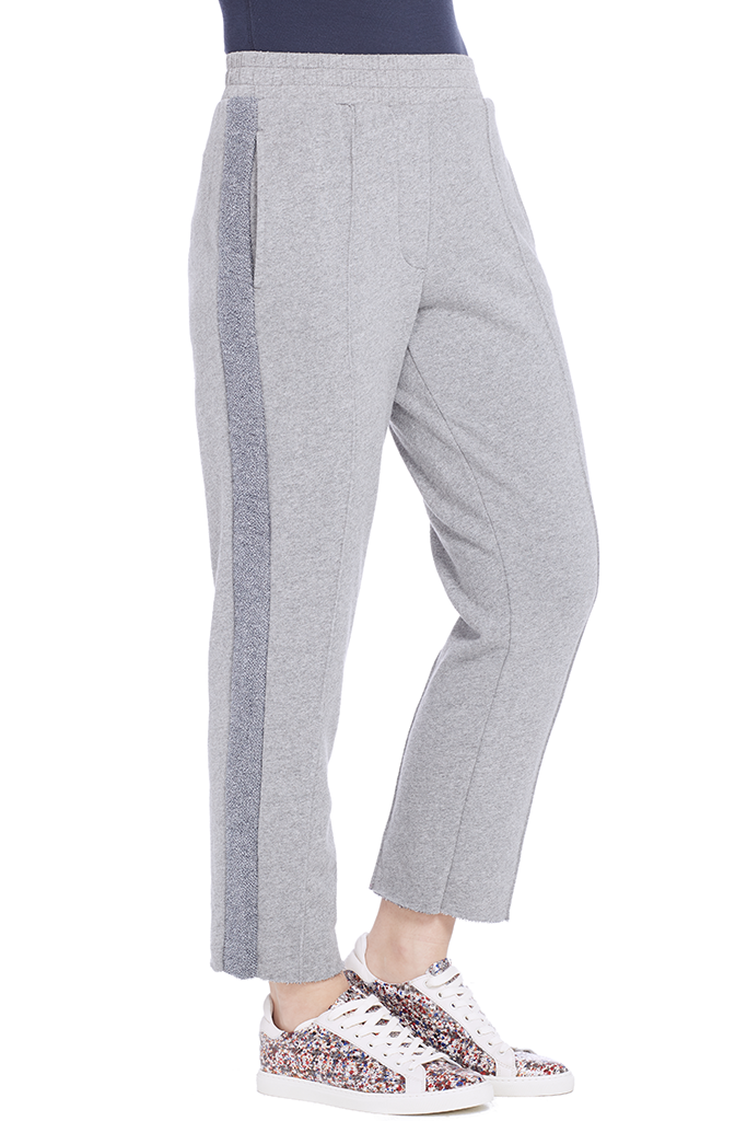 French Terry Crop Pull On Sweatpant
