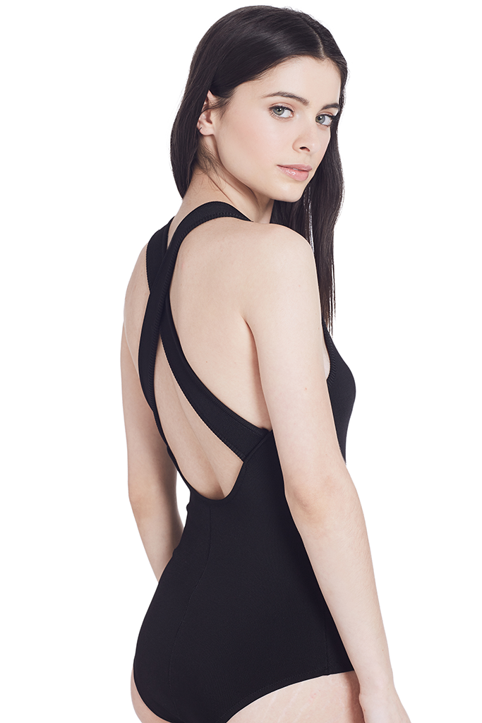 Stretch Viscose Bodysuit