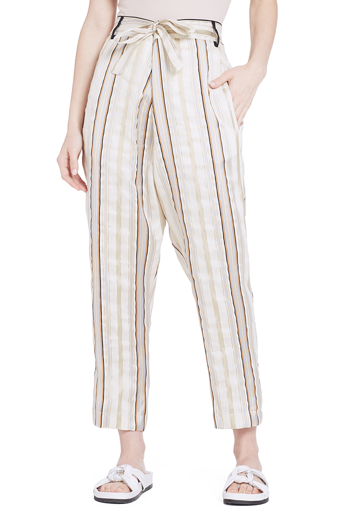 Chic Stripe Thai Pants