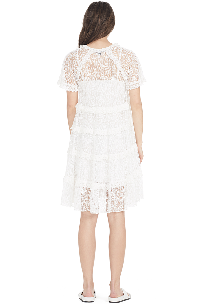 Tiered Daisy Lace Dress
