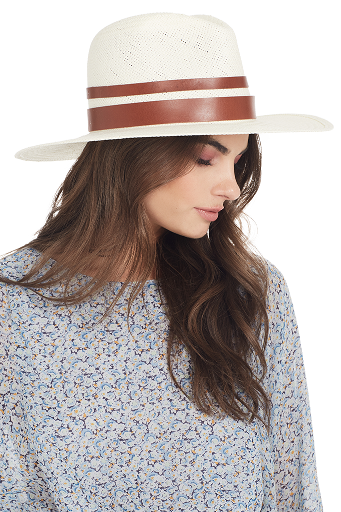 2fc4e27a7 Michaela Bleached Straw Hat - Shopatmilk.com – Milk Boutique