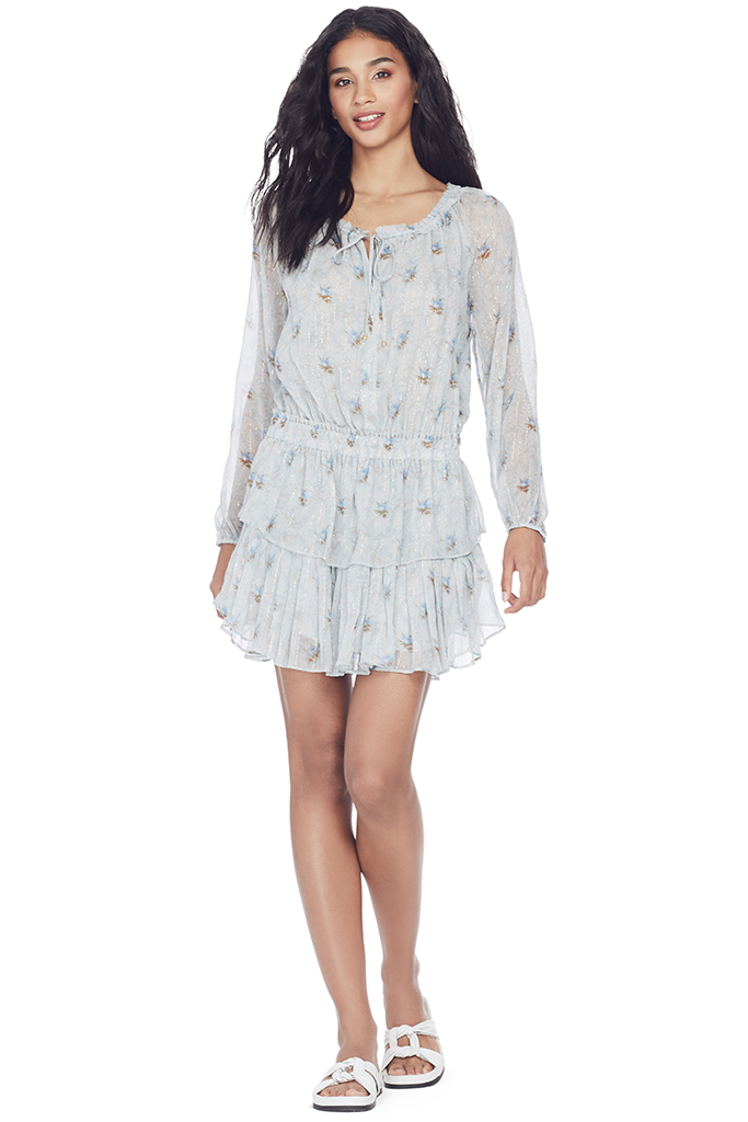 Popover Dress (Sea Breeze)