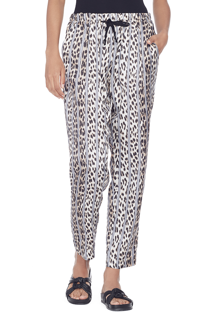 Satin Savage Vanity Print Jogging Pant